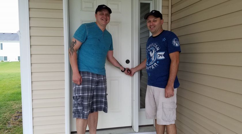 Us on our new home's closing day! (September 2017)